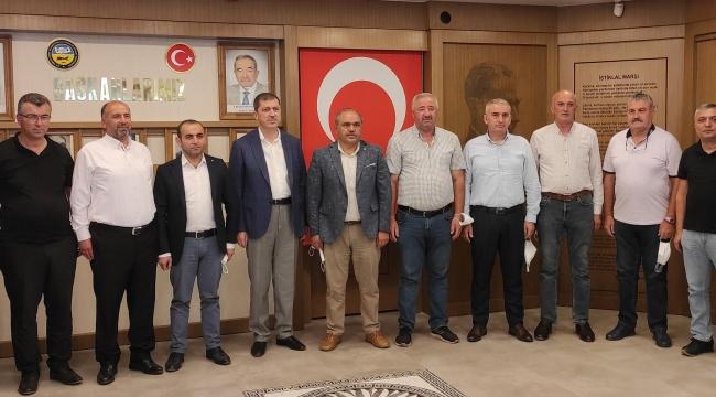 Ak Parti Tokat Milletvekili Mustafa Arslan ve İl Teşkilatından Başkanımıza Hayırlı Olsun Ziyareti