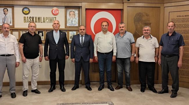 CHP Tokat Milletvekili Kadim Durmaz ve İl Yönetiminden Hayırlı Olsun Ziyareti