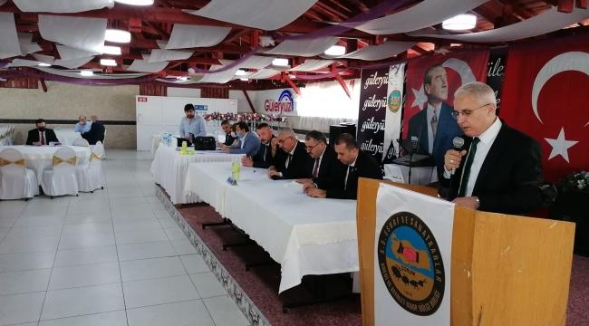 Çorum 9. Bölge Koop. Birliği Kongresinde Bölge Başkanımız Vedat Canbek Yeniden Göreve Seçilmiştir.