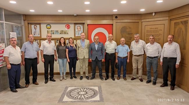 İyi Parti Tokat İl Başkanı Ömer Sağol ve Merkez İlçe Başkanı Mesut Eryiğit'ten Başkanımıza Hayırlı Olsun Ziyareti