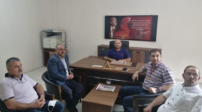 Kooperatifimiz Yönetim Kurulu Üyeleri Tokat Gazetesini Ziyaret Etmiştir.