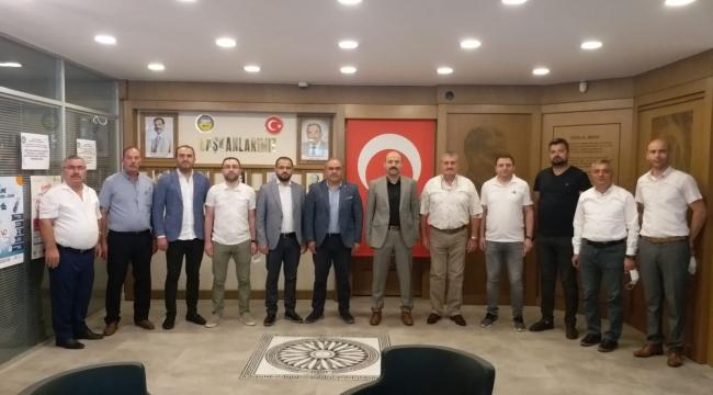 Müsiad Tokat Başkanı Fatih Aksoy ve Yönetim Kurulu Üyelerinden Başkanımıza Hayırlı Olsun Ziyareti