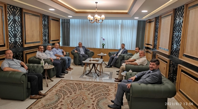 Tokat Belediye Başkanı Eyüp Eroğlu, Başkanımıza Hayırlı Olsun Ziyaretinde Bulunmuştur.
