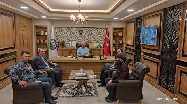 Yeniden Refah Partisi Tokat il Başkanı Ali Osman Daldal ve İl Yönetiminden Hayırlı Olsun Ziyareti