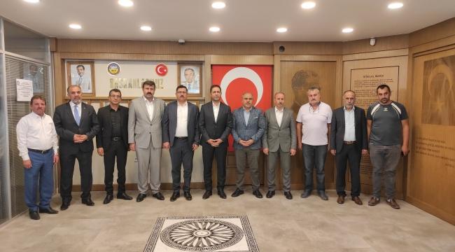 MHP Tokat Milletvekili Yücel Bulut ve Tokat il Teşkilatı Kooperatifimizi Ziyaret Etmiştir.